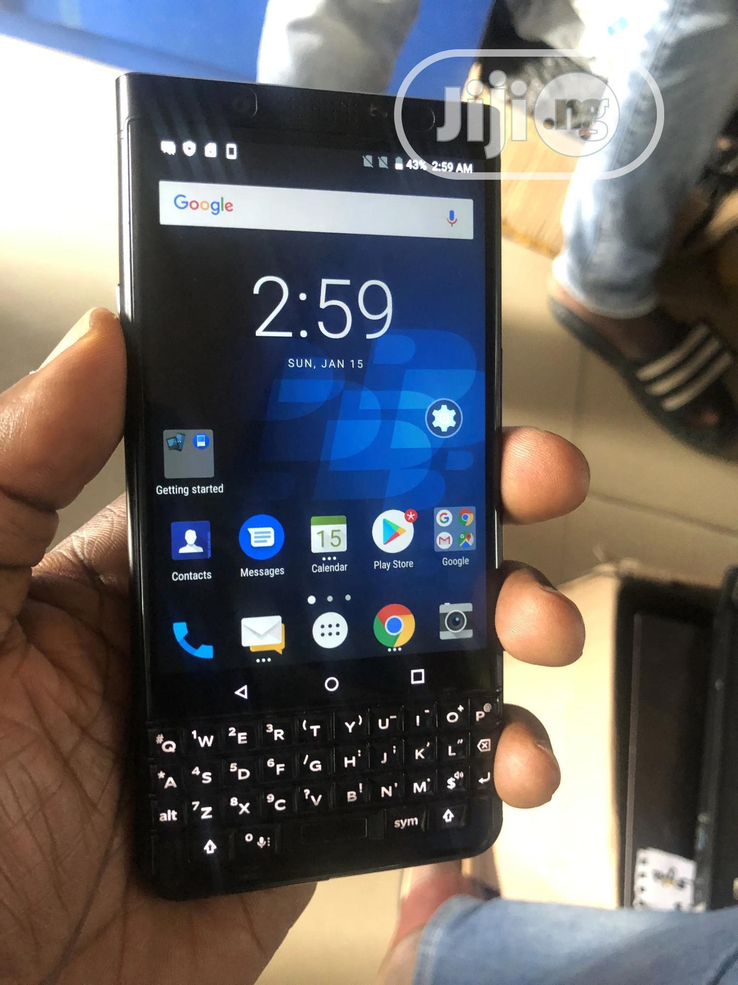 BlackBerry KEYone 64 GB Black | Mobile Phones for sale in Ilorin South, Kwara State, Nigeria