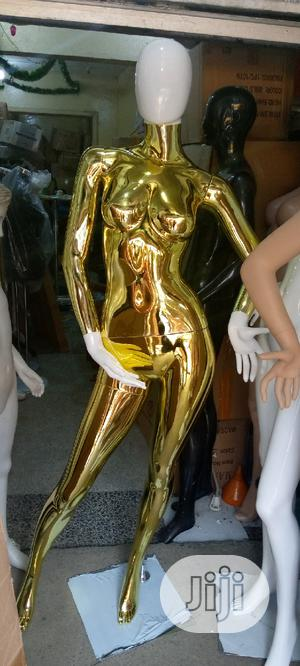 Gold And White Faceless Female Mannequin | Store Equipment for sale in Lagos State, Lagos Island (Eko)