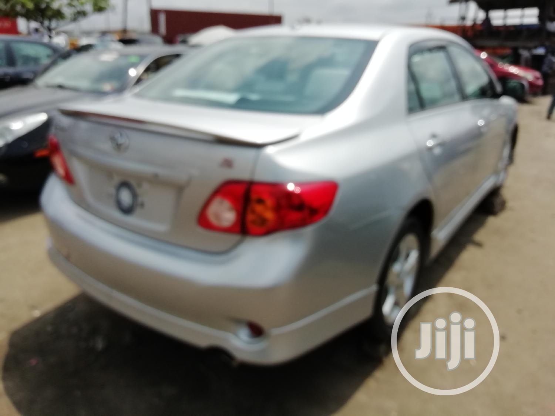 Toyota Corolla 2010 Silver | Cars for sale in Apapa, Lagos State, Nigeria