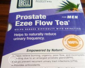Bell Prostate Ezee Flow Tea For Prostate Enlargement | Sexual Wellness for sale in Lagos State, Badagry