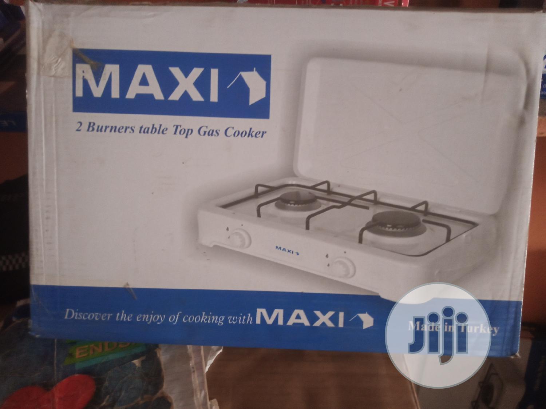 Maxi 2 Burner Gas Cooker