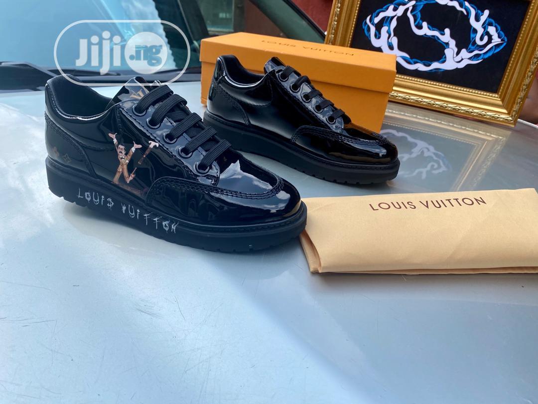 Louis Vuitton Black | Shoes for sale in Agboyi/Ketu, Lagos State, Nigeria