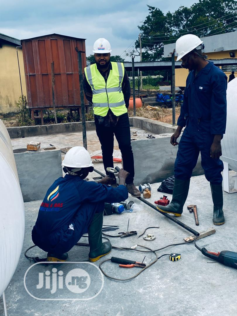 10tons LPG Storage Tank Construction And Installation | Building & Trades Services for sale in Ikeja, Lagos State, Nigeria