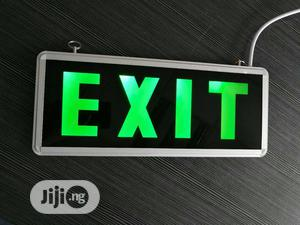 Fire Emergency Exit LED Sign I LED Emmergency Sign Light   Manufacturing Services for sale in Lagos State, Ikeja