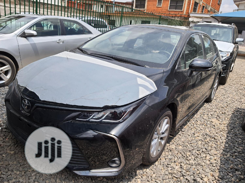 New Toyota Corolla 2020 LE Black