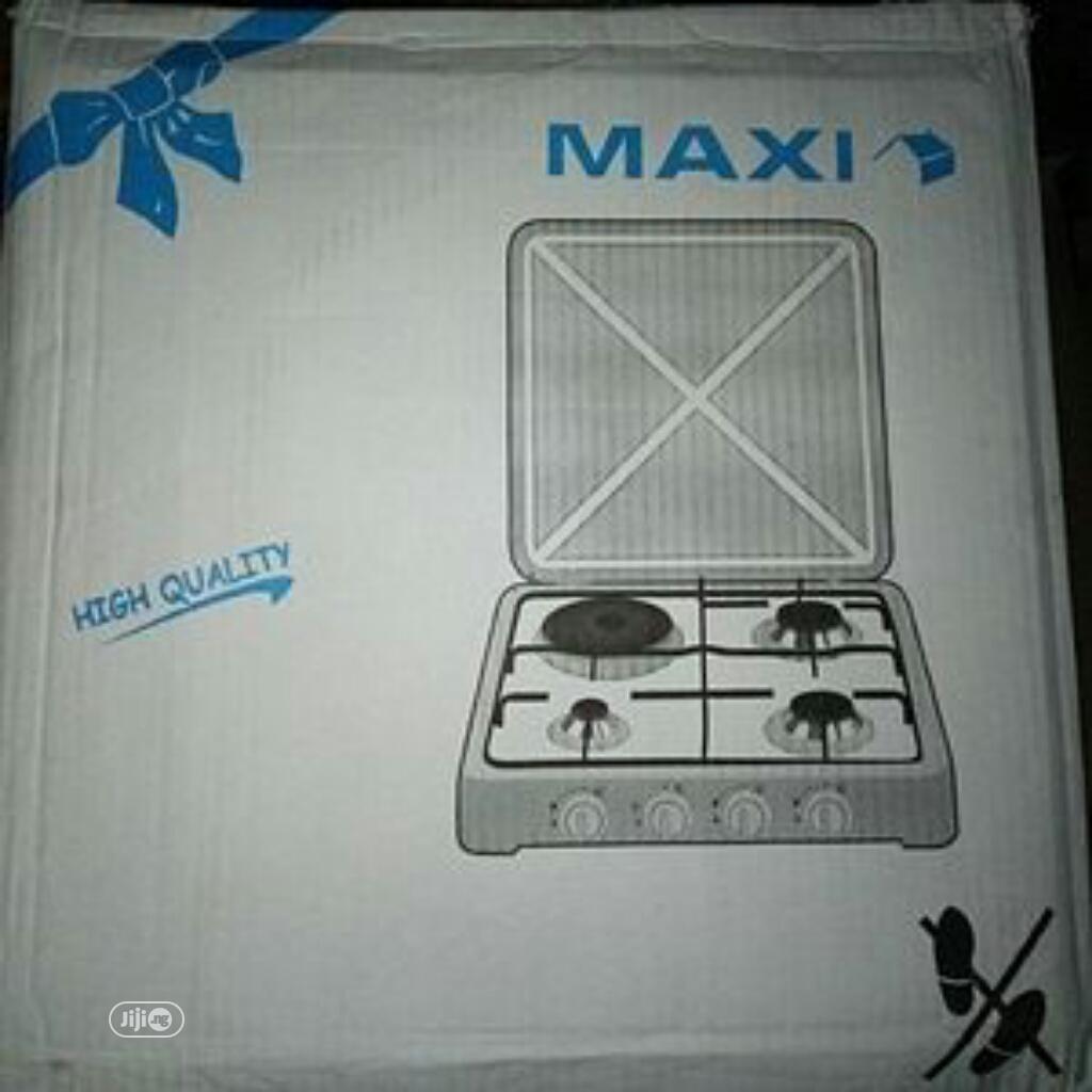 Maxi 411 4-Burner (3 Gas + 1 Electric) Table Top Cooker | Kitchen Appliances for sale in Lagos Island (Eko), Lagos State, Nigeria