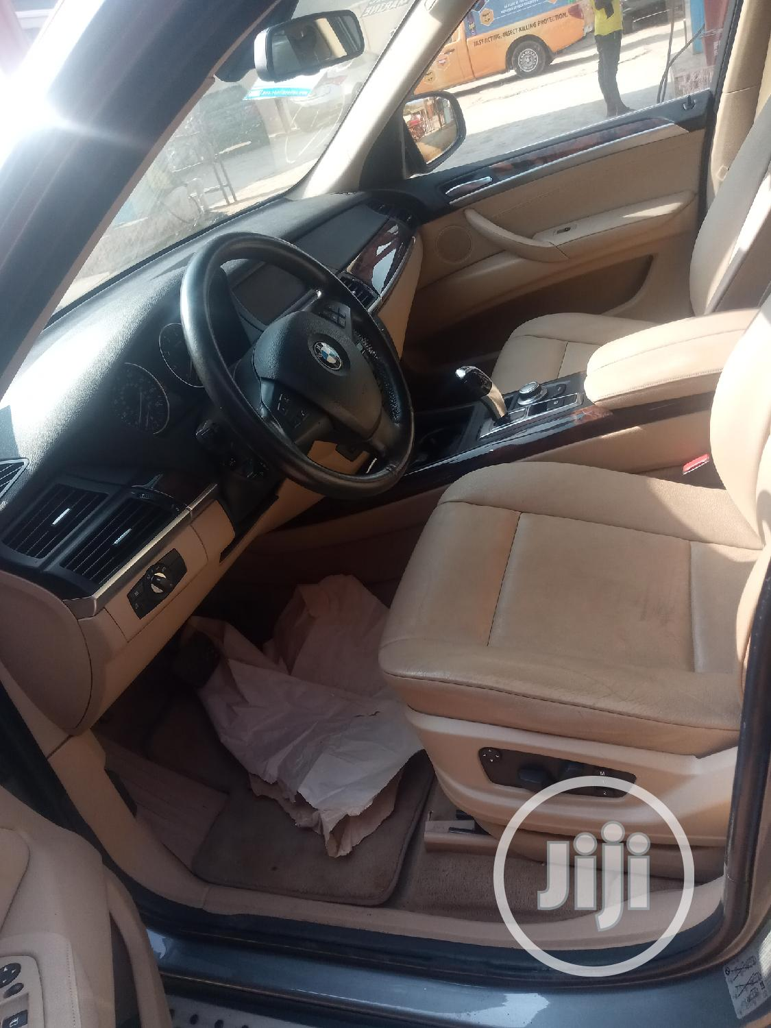 BMW X5 2008 Gray | Cars for sale in Isolo, Lagos State, Nigeria