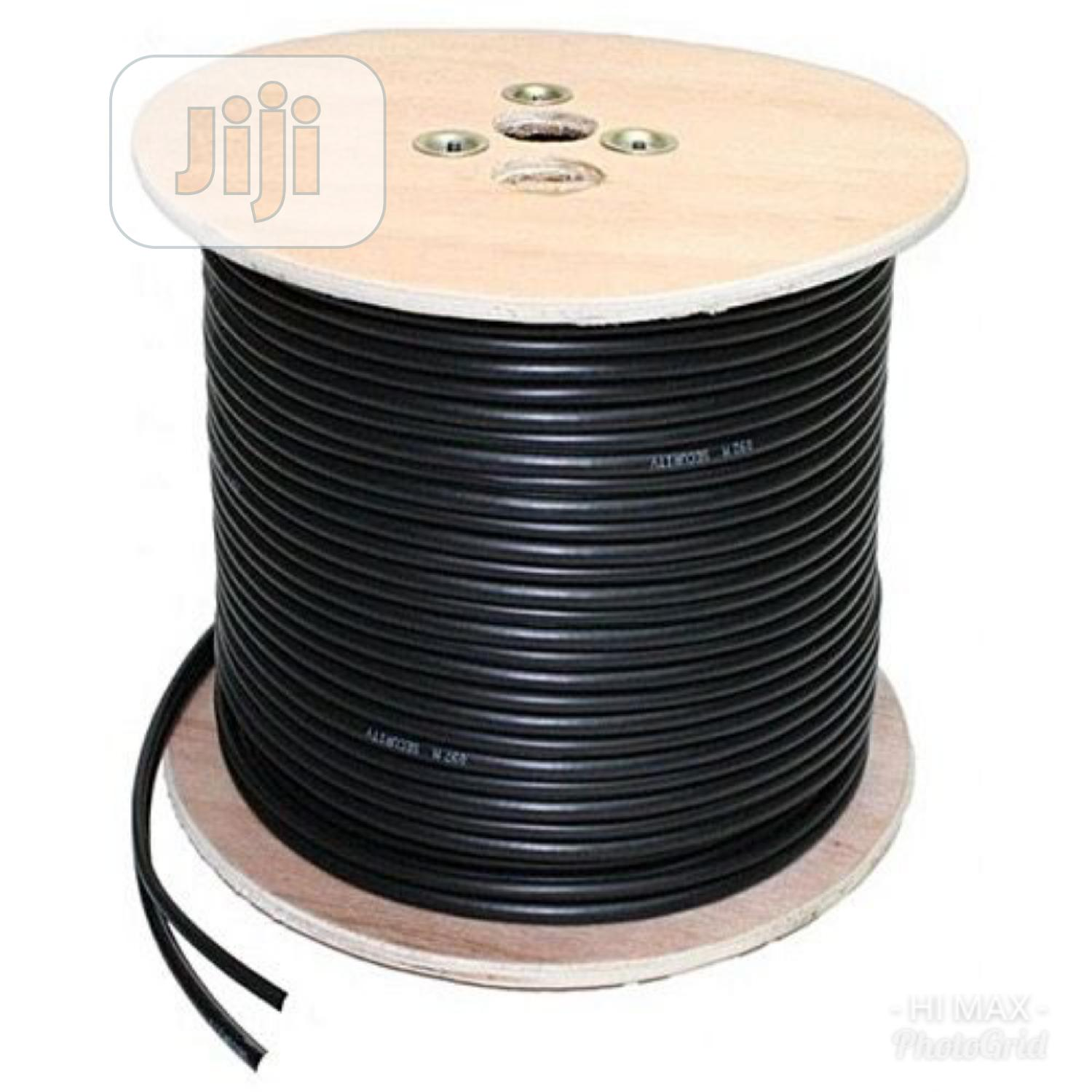 Rg59 100% Copper Coaxial Cable With Power - 305meters