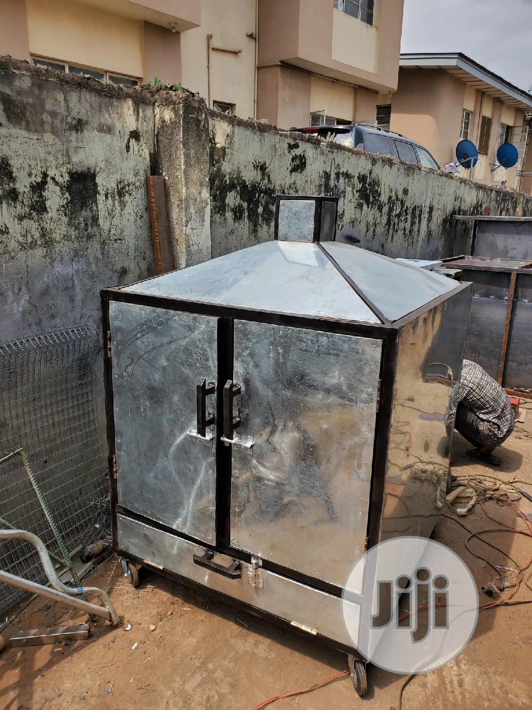 Fish Farming Smoking Kiln