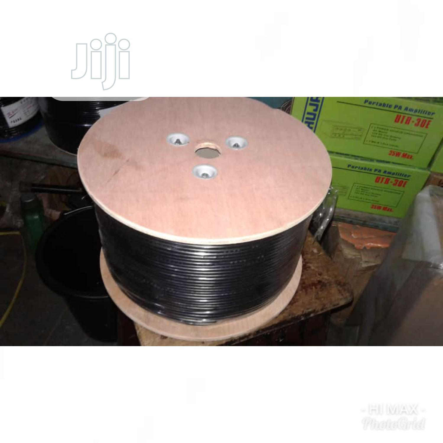 Rg59 100% Copper Coaxial Cable With Power - 305meters | Accessories & Supplies for Electronics for sale in Lagos Island (Eko), Lagos State, Nigeria