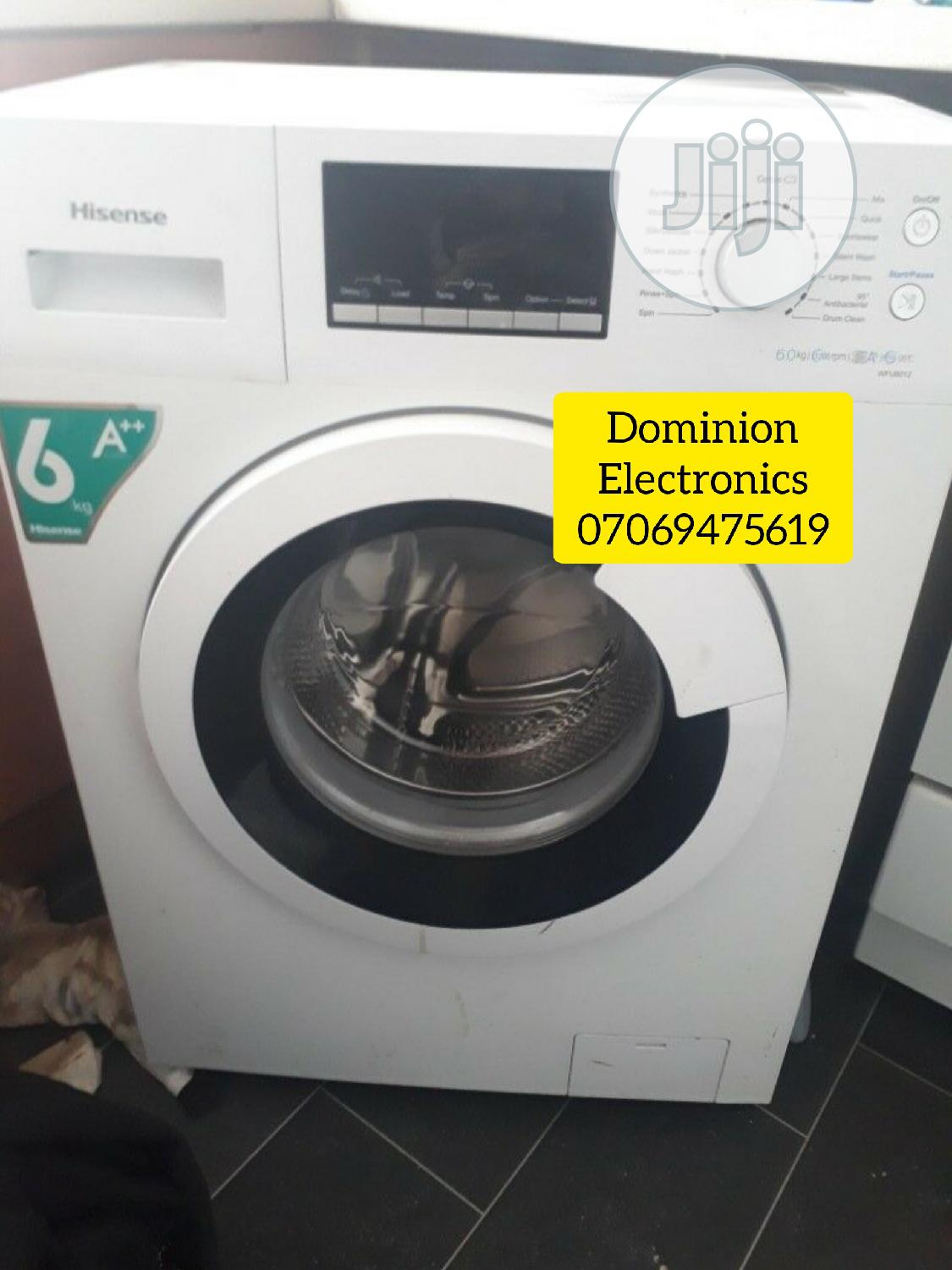 Brand New Hisense 6kg Full Automatic Washing Machine 1year