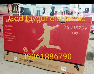 -New Made>LG 75''inch 4K Uhd Smart Tv Android Version Wi-Fi | TV & DVD Equipment for sale in Lagos State, Ojo