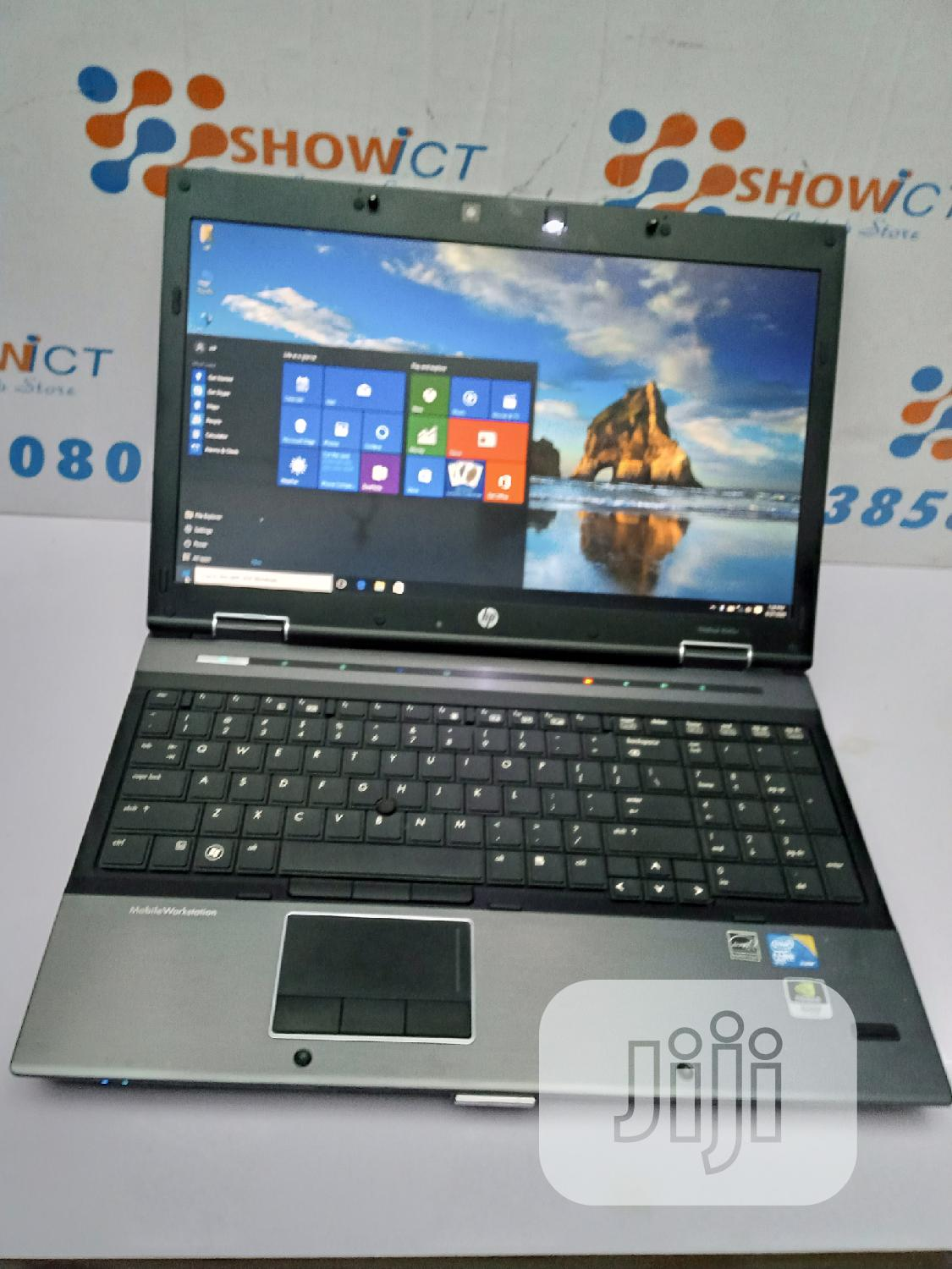Laptop HP EliteBook 8540W 16GB Intel Core I7 HDD 1T | Laptops & Computers for sale in Maryland, Lagos State, Nigeria