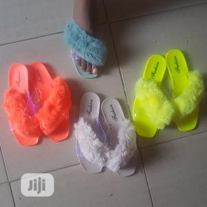Winter Slip On With Fur Design   Shoes for sale in Lagos State, Isolo