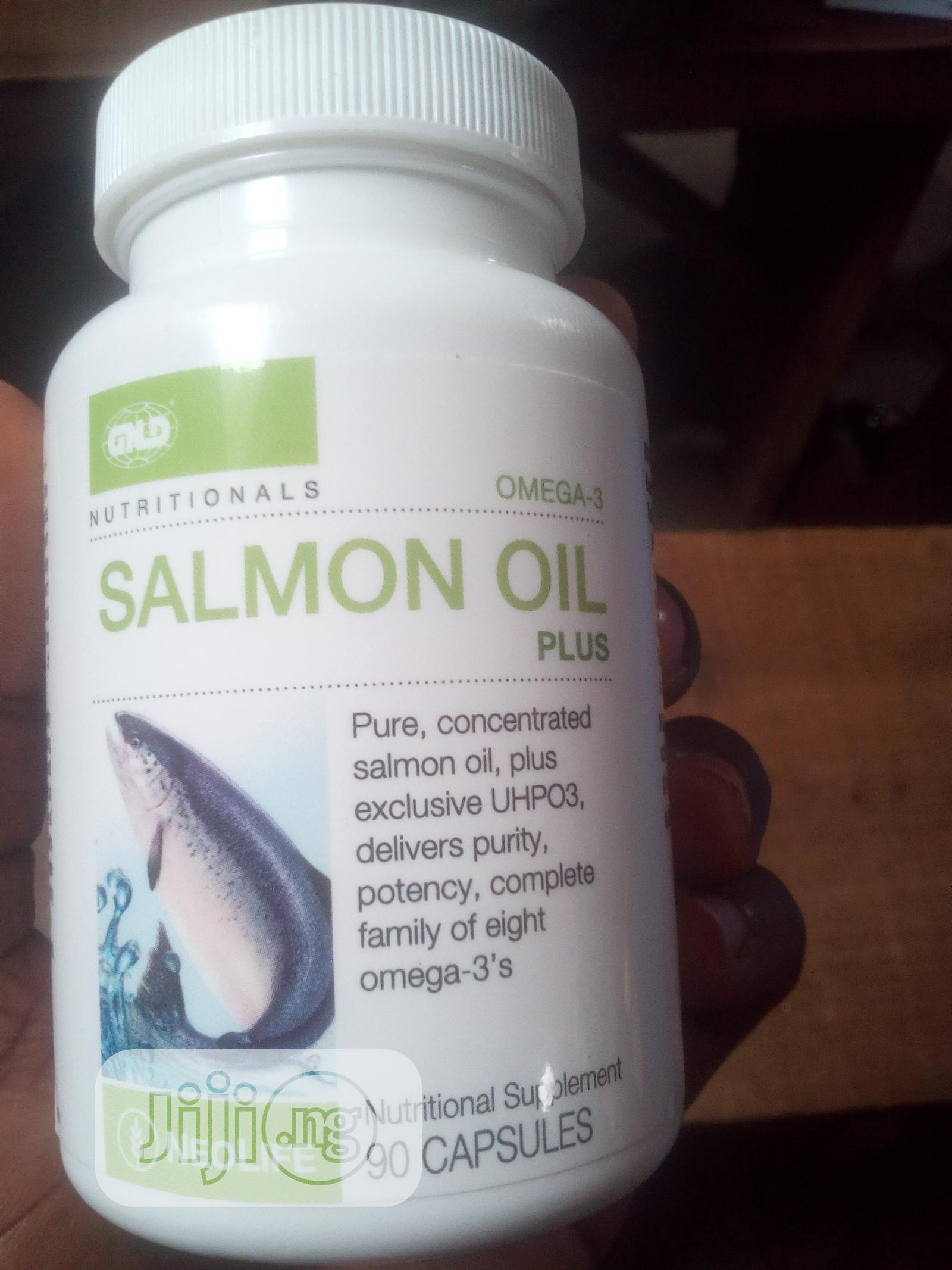 Omega3 Salmon Oil PLUS | Vitamins & Supplements for sale in Abeokuta South, Ogun State, Nigeria
