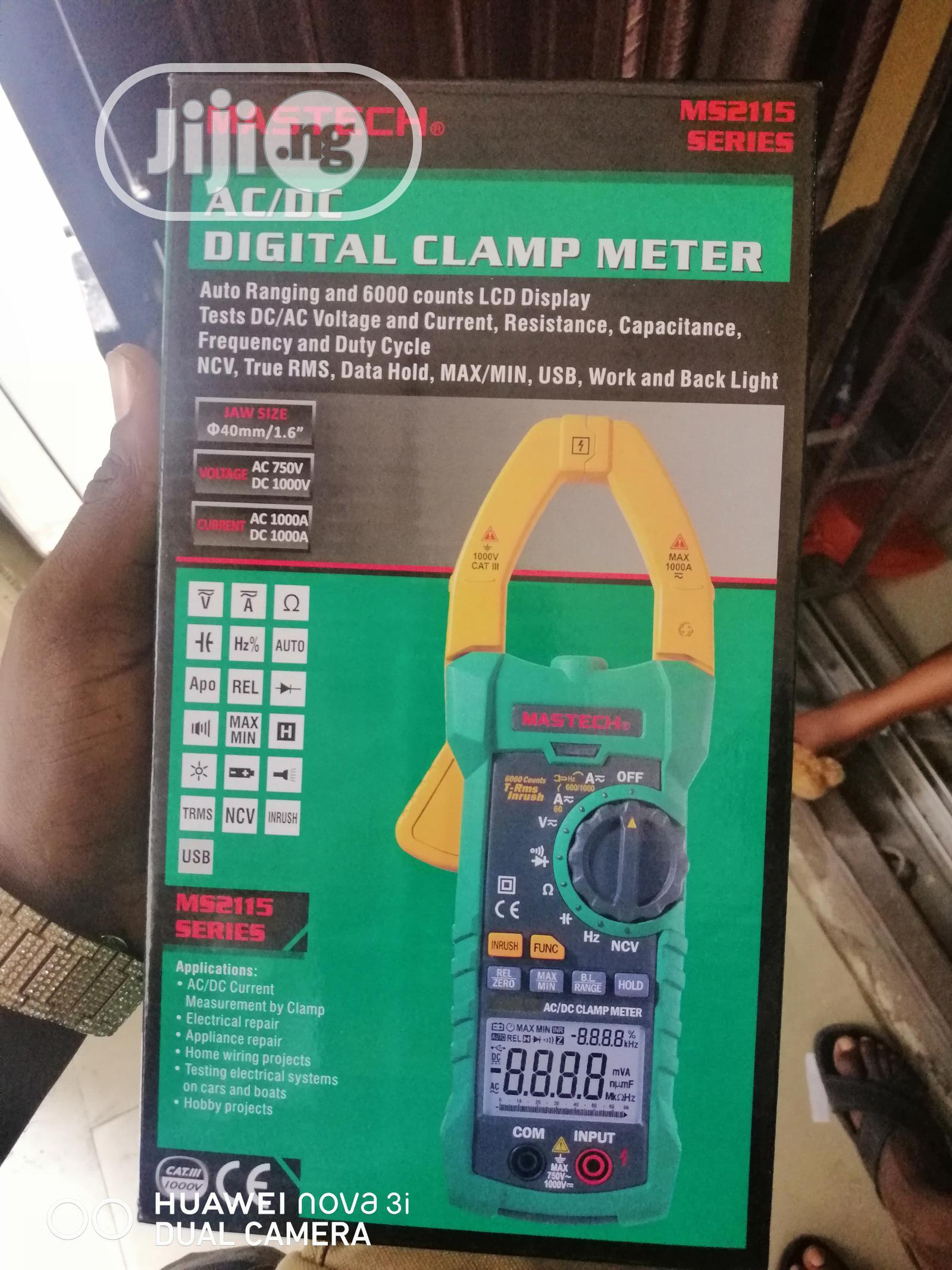 Mastech MS2115A AC-DC Digital Clamp Meter