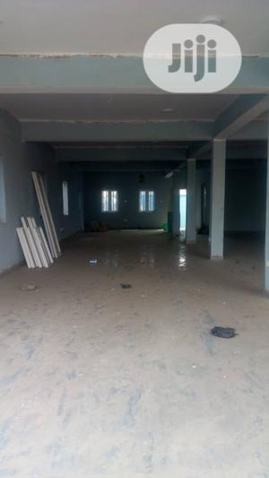 Standard 400sqm Ground Floor Office With 3toilet On The Road | Commercial Property For Rent for sale in Lagos State, Agege