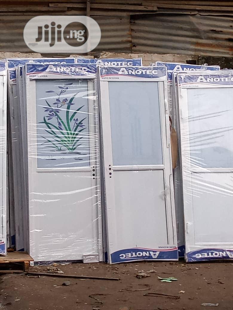 Archive: Quality White Aluminium Toilet Door S