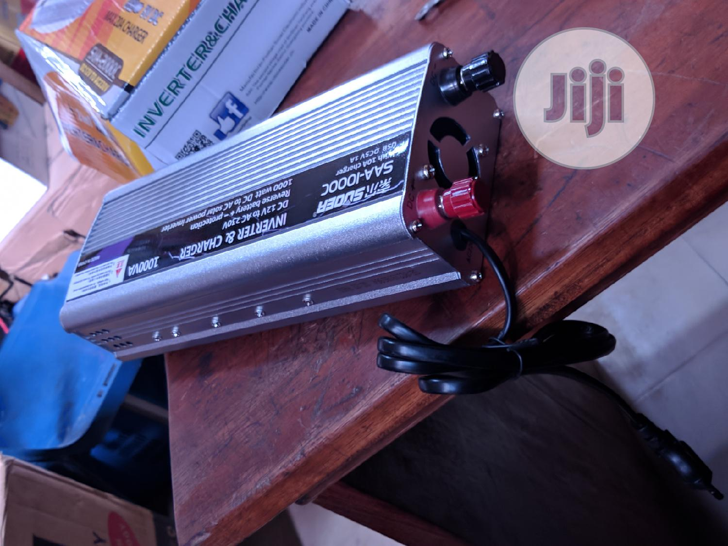 Archive: 1000watts SUOER Inverter With Charger Available