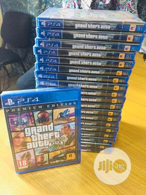 Ps4 GTA V Games Cds   Video Games for sale in Lagos State, Ikeja