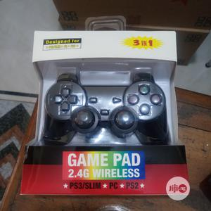 3in1 Wireless Game Pad For Ps3 Slim, Ps2 And PC | Accessories & Supplies for Electronics for sale in Lagos State, Ojo
