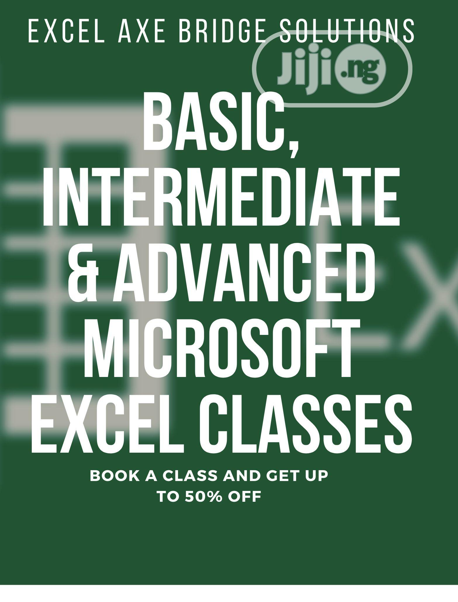 Microsoft Excel for Basic, Advanced and Professional Classes