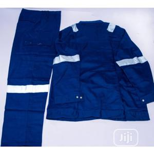 Safety Reflective Coverall (Up And Down) - Blue | Safetywear & Equipment for sale in Lagos State, Lagos Island (Eko)