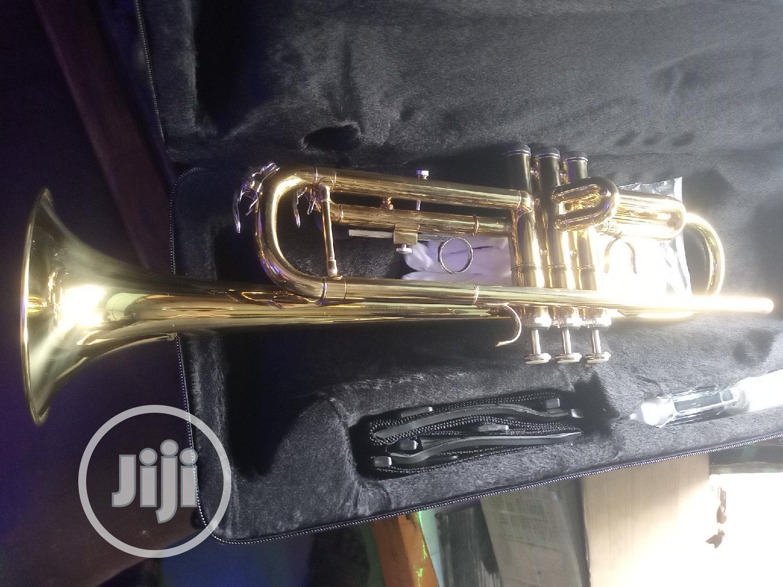 Yamaha Legend Golden Coloured Finish Trumpet