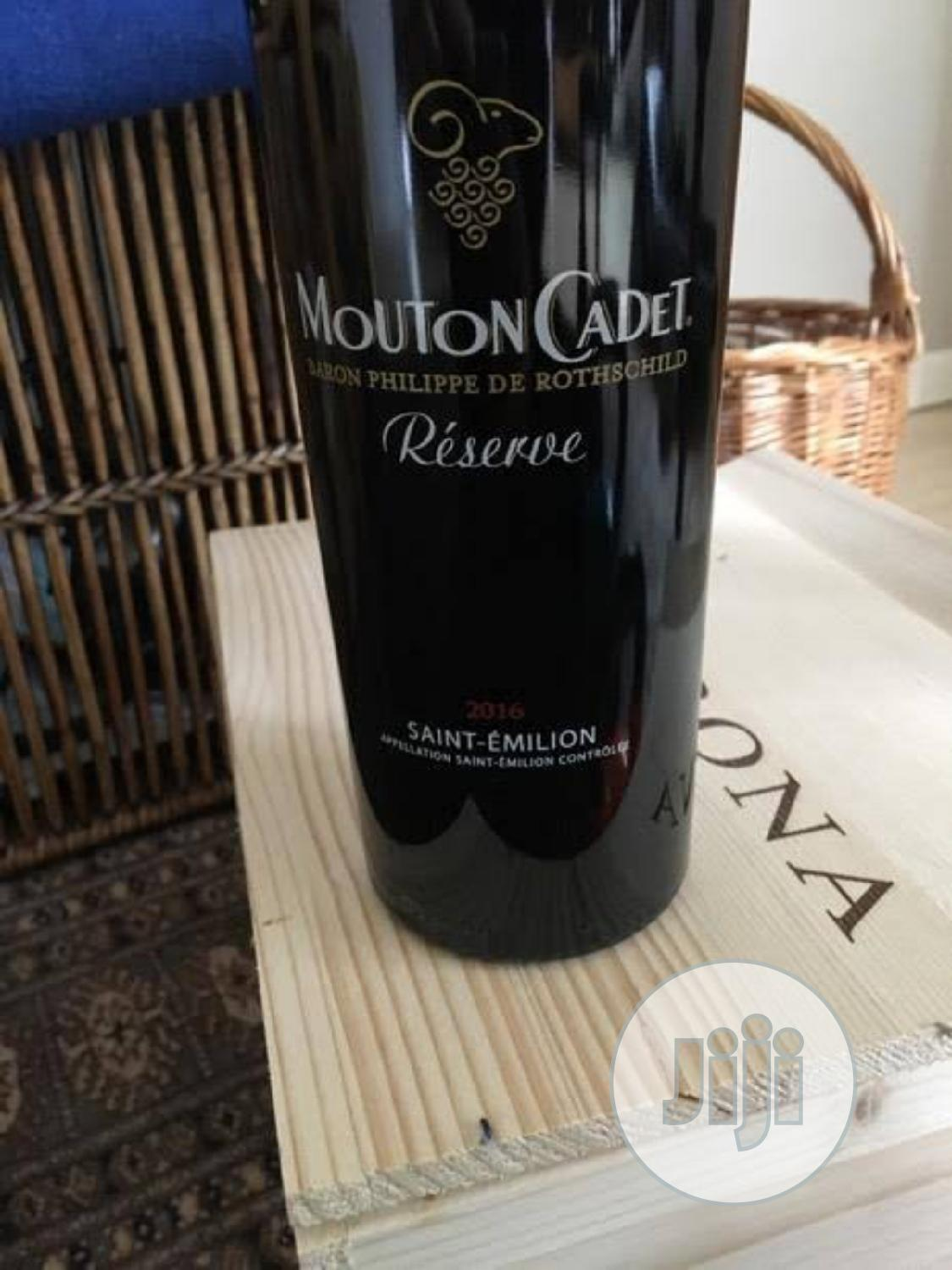 Mouton Cadet Bordeaux Red Wine   Meals & Drinks for sale in Lagos Island (Eko), Lagos State, Nigeria