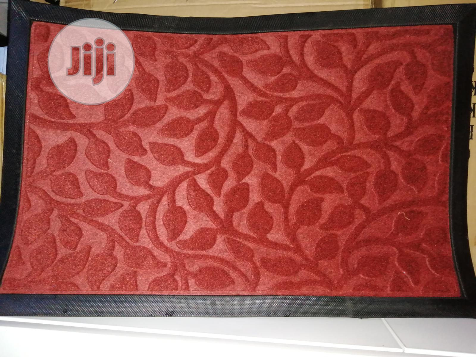 Door Mat for Indoor and Outdoor Use.