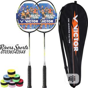2 in 1 Victor Jetspeed Badminton Racket   Sports Equipment for sale in Rivers State, Port-Harcourt