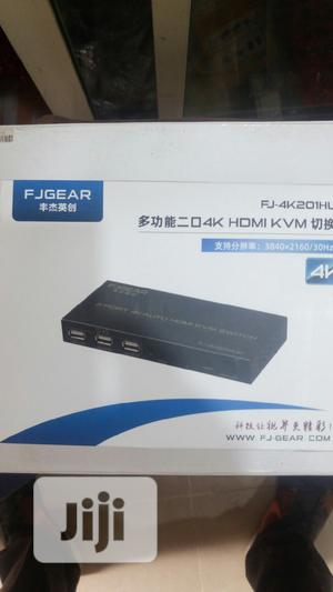 Fjgear 2 Port 4K Auto HDMI Kvm Switch   Computer Accessories  for sale in Lagos State, Ikeja