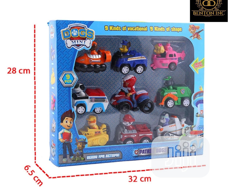 Paw Patrol 9 Car Set   Toys for sale in Lekki, Lagos State, Nigeria