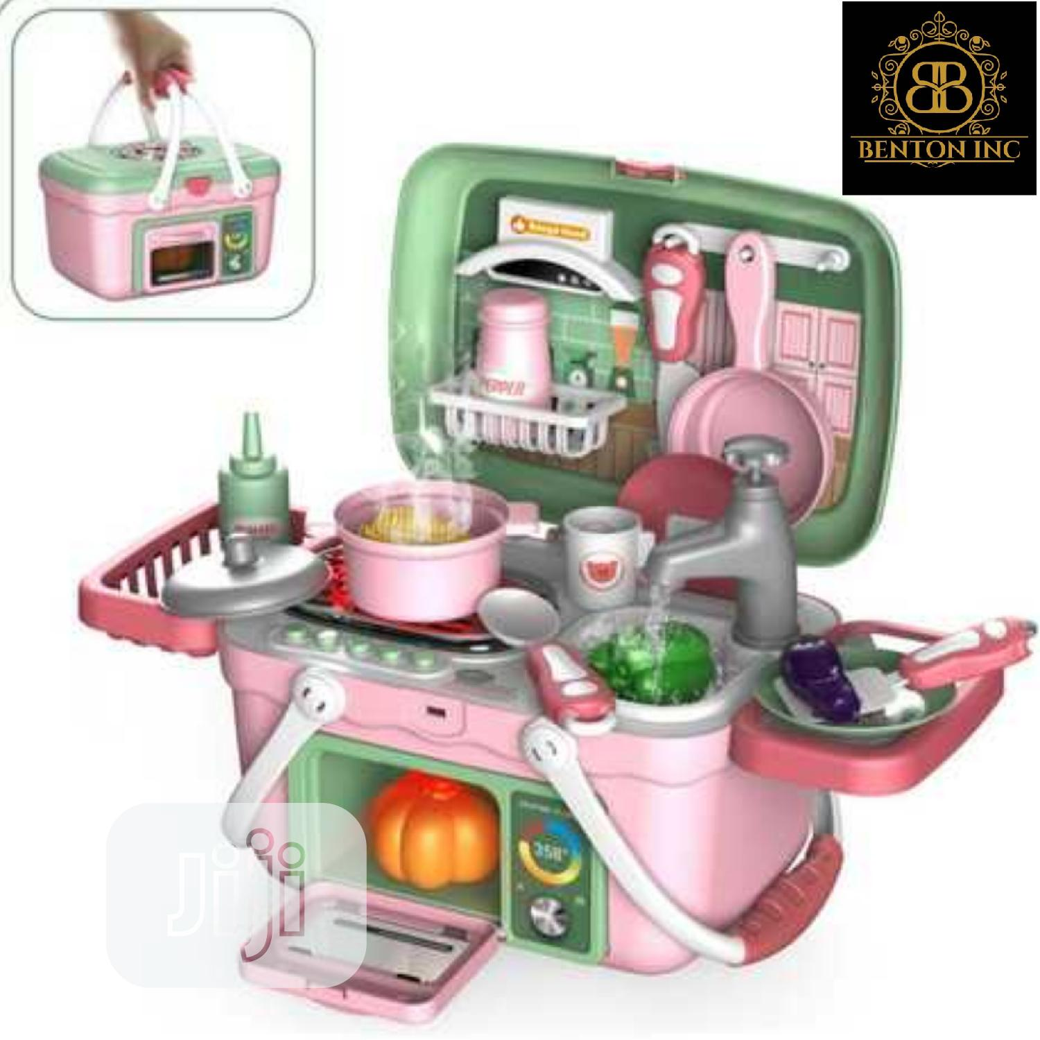 Toy Kitchen In A Box