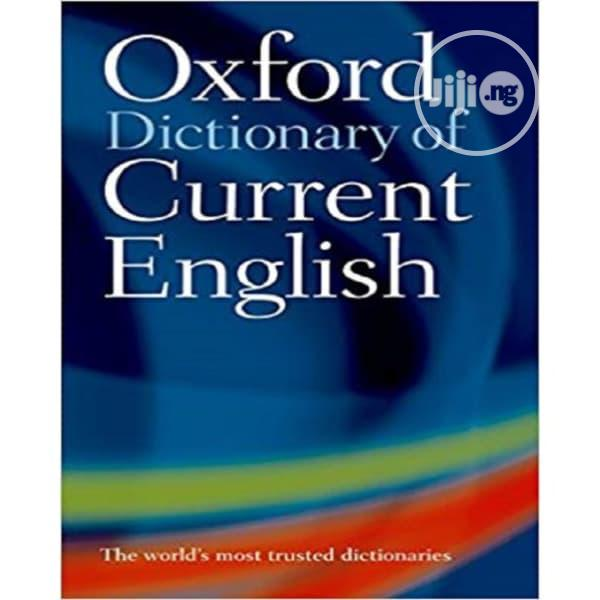 Archive: Oxford Dictionary