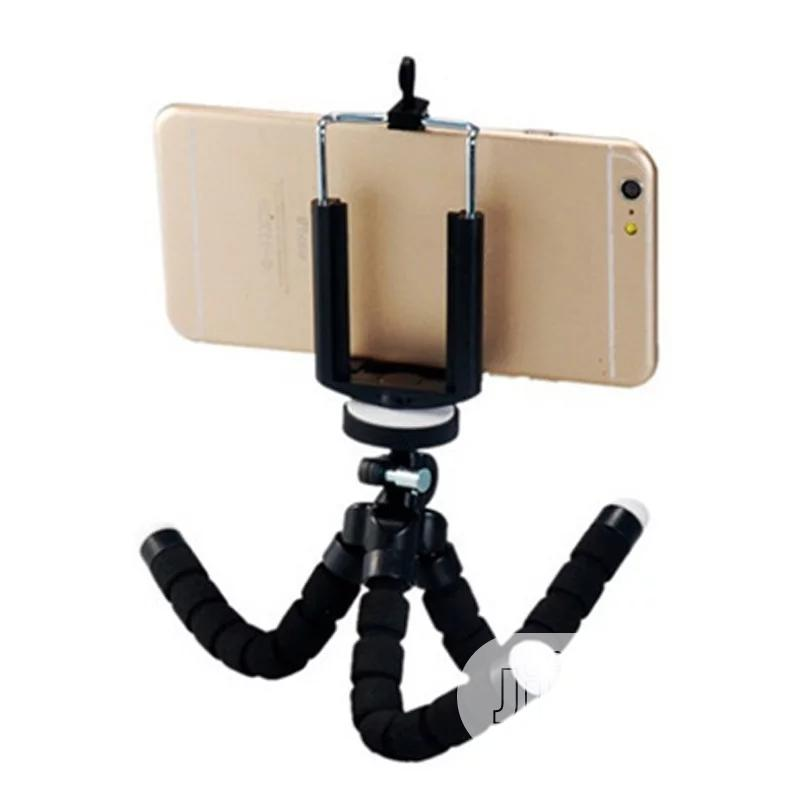 Mini Flexible Sponge Octopus Tripod For Smartphone | Accessories for Mobile Phones & Tablets for sale in Ikeja, Lagos State, Nigeria