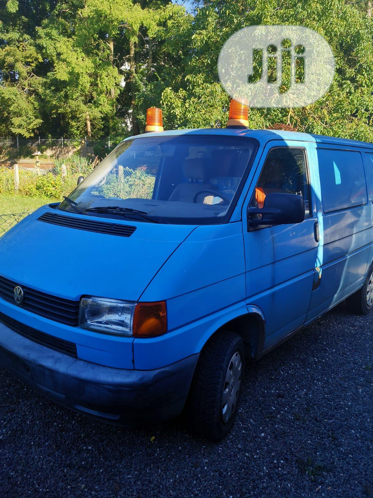 Blue 'tokunbo' Fiat Ducato
