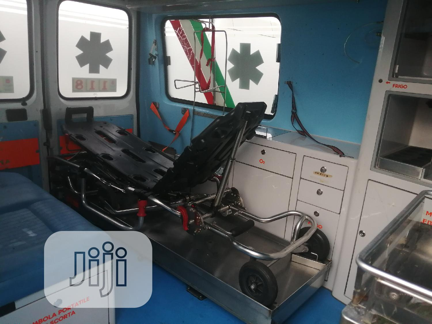 Fiat Ducato Ambulance White   Buses & Microbuses for sale in Apapa, Lagos State, Nigeria