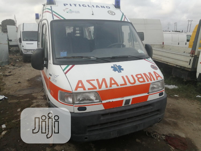 Fiat Ducato Ambulance White