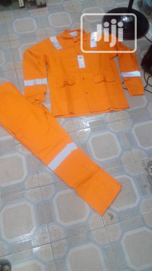 TOPS Reflective Safety Coverall Overall. Shirt and Trousers | Safetywear & Equipment for sale in Lagos State, Ojo