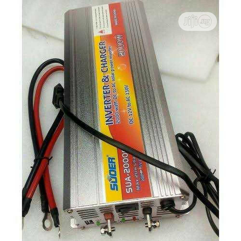 2000w Suoer Inverter With Charger