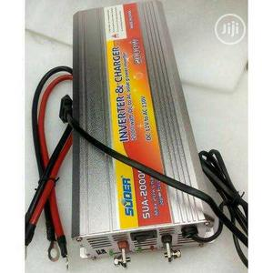 2000w Suoer Inverter With Charger | Solar Energy for sale in Lagos State, Lekki