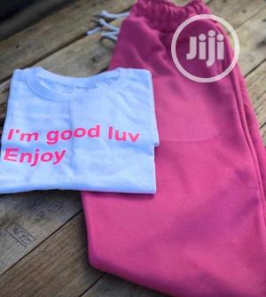Beautiful Ladies T-Shirt and Joggers | Clothing for sale in Lagos State, Yaba