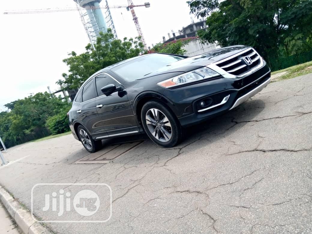 Honda Accord CrossTour 2013 EX-L w/Navigation AWD Black | Cars for sale in Garki 2, Abuja (FCT) State, Nigeria
