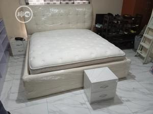6by6feet Bedframes With 2 Bedside Drawers. King's Size Bed   Furniture for sale in Lagos State, Ikeja