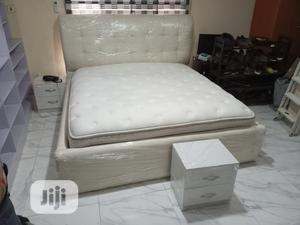A 6by6feet Bedframes With 2 Bedside Drawers. King's Size Bed   Furniture for sale in Lagos State, Ajah