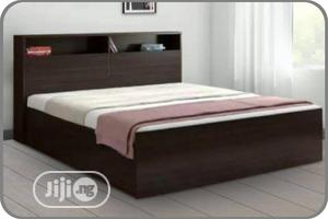 6 by 6 Ft Quality Wooden Bed Frame | Furniture for sale in Lagos State, Ikeja