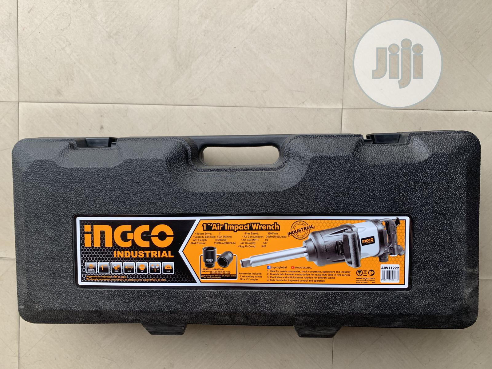 """Archive: 1"""" Air Impact Wrench Ingco"""