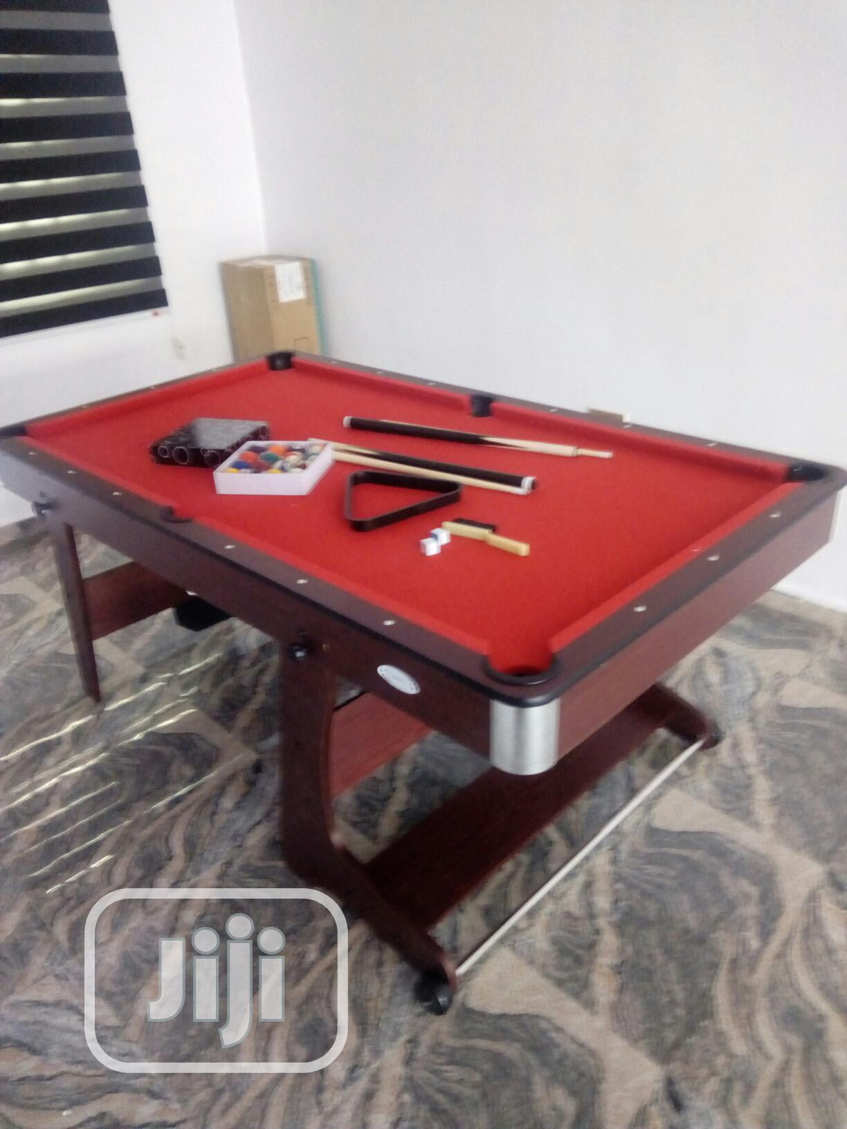Portable Snooker Table 6ft