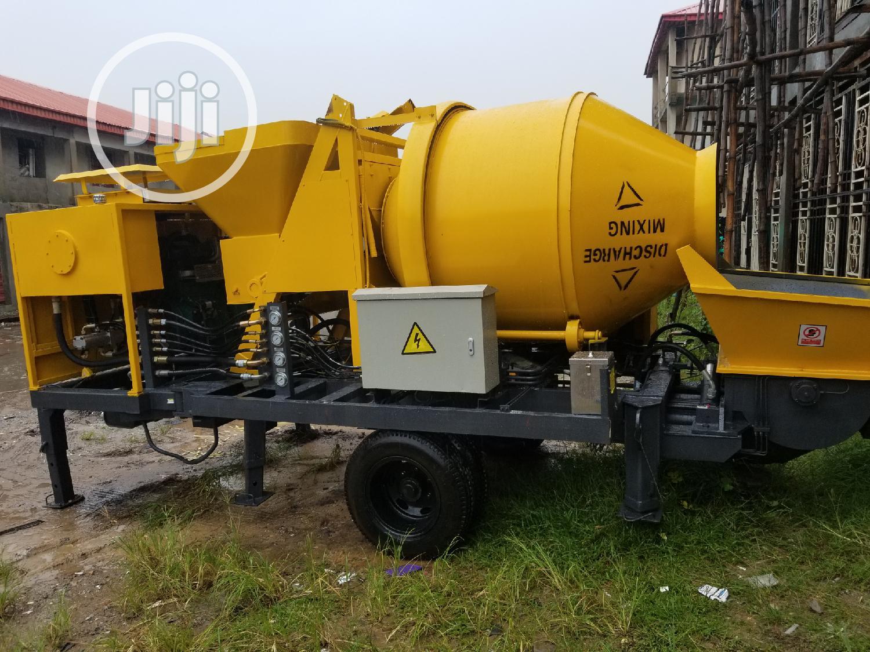Mobile Concrete Mixer With Concrete Pump | Heavy Equipment for sale in Lagos Island (Eko), Lagos State, Nigeria
